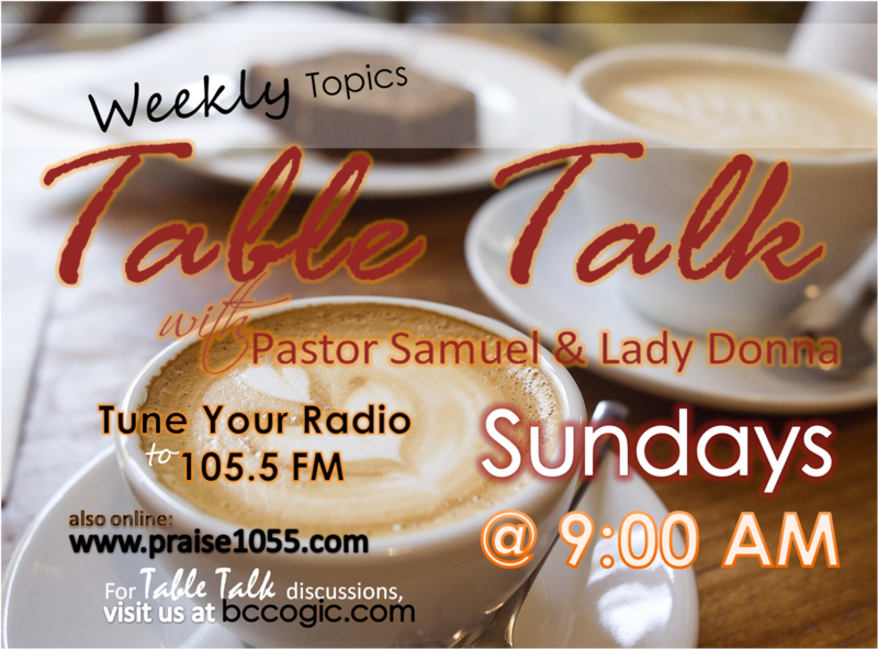 Join Pastor Sam & Lady Donna!